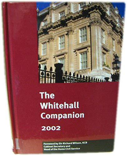 9780117022720: Whitehall Companion
