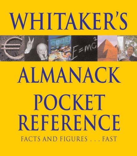 9780117022768: Whitaker's Almanack Pocket Reference