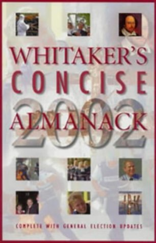 9780117022782: Whitaker's Concise Almanack 2002: 134th Annual Edition