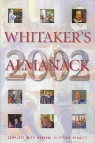 9780117022799: Whitaker's Almanack 2002: 134th Annual Edition. Standard Edition