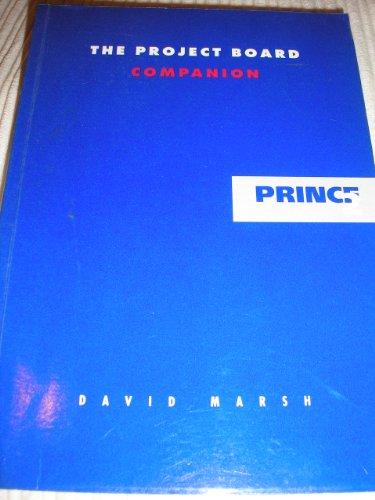 9780117022959: PRINCE Companion: Project Board