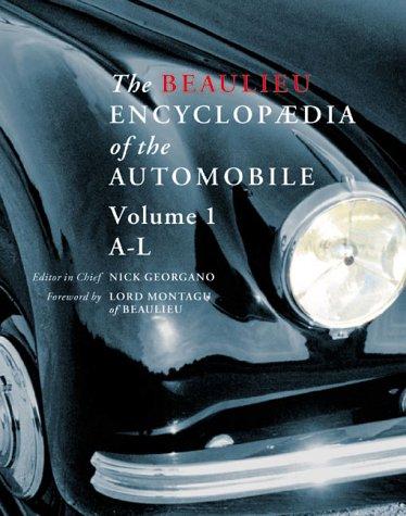 9780117023192: The Beaulieu Encyclopedia Of The Automobile (2 Volume Set) Volume 1: A-L; Volume 2: M-Z