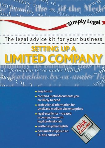 9780117023512: Setting up a Limited Company (Simply legal)