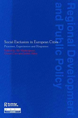 9780117023727: Social Exclusion in European Cities: Processes, Experiences and Responses (Regions and Cities)