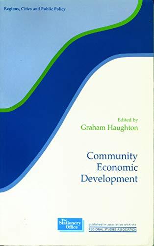 9780117023772: Community Economic Development (Regions and Cities)