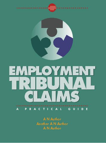 9780117023932: Employment Tribunal Claims (Legal Guidance)
