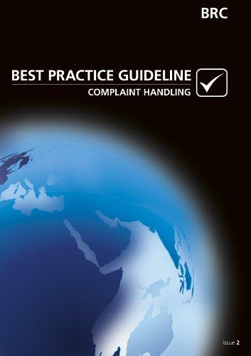 9780117025745: BRC Best Practice Guideline: Complaint Handling - Issue 2