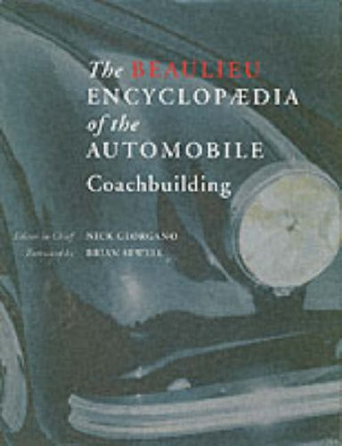 9780117027503: The Beaulieu Encyclopaedia of the Automobile: Coachbuilding