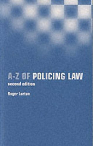 9780117028128: A-Z of Policing Law (Point of law)