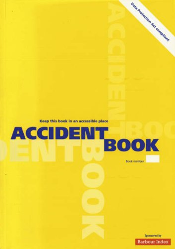 9780117031647: Accident Book
