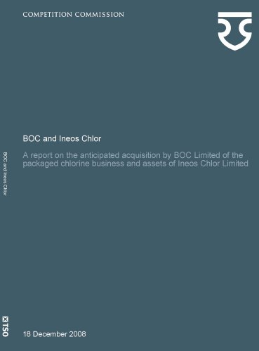 BOC and Ineos Chlor: A Report on the Anticipated Acquisition by BOC Limited of the Packaged ...