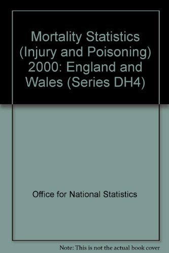 9780117055964: Mortality Statistics (Injury and Poisoning): England and Wales (Series DH4)