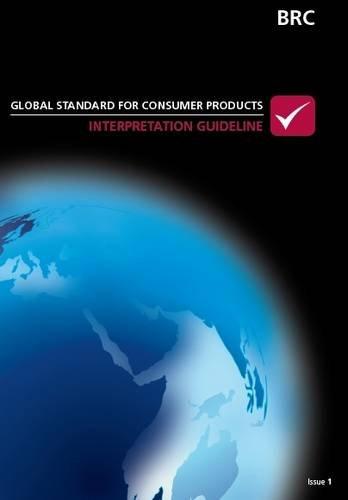 9780117064546: BRC Global Standard for Consumer Products: Interpretation Guideline (Collection Principes De La Planification De L'education)