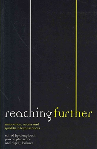 9780117067240: Reaching further: innovation, access and quality in legal services