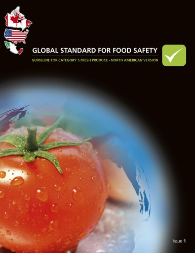 9780117067332: Global standard for food safety: guideline for category 5 fresh produce - North American version