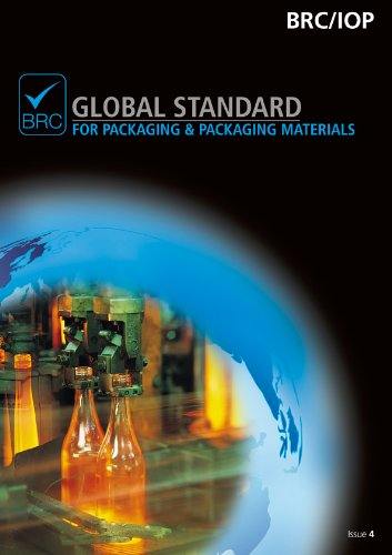 9780117069633: BRC/IOP Global Standard for Packaging & Packaging Materials Issue 4, North American edition