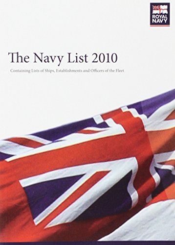 The Navy List 2010 (Paperback): Ministry of Defence