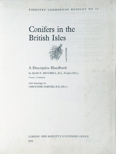 9780117100121: Conifers in the British Isles. A Descriptive Handbook
