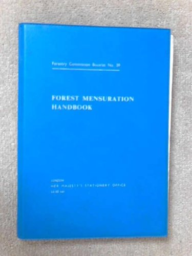 9780117100237: Forest Mensuration Handbook