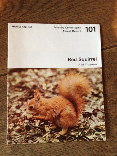 9780117101715: Red Squirrel (Forest Record)