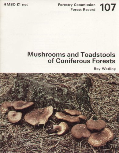 9780117101777: Mushrooms and Toadstools of Coniferous Forests