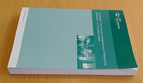 9780117302655: Cohabitation: The Financial Consequences of Relationship Breakdown-a Consultation Paper