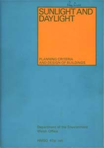 9780117504004: Sunlight and Daylight: Planning Criteria and Design of Buildings (Design Bulletin)