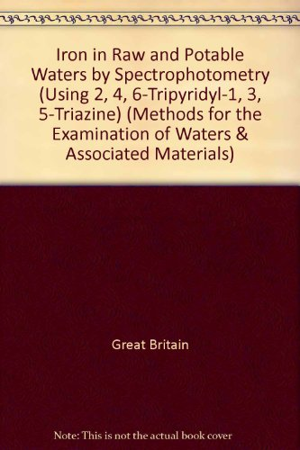 Iron in Raw and Potable Waters by: Great Britain
