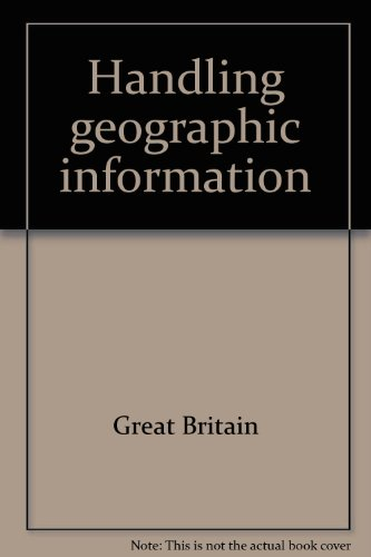 9780117520806: Handling geographic information