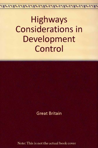 9780117521551: Highways Considerations in Development Control
