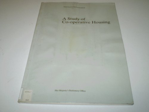 9780117522398: A Study of Cooperative Housing