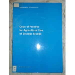 9780117522565: Code of Practice for Agricultural Use of Sewage Sludge