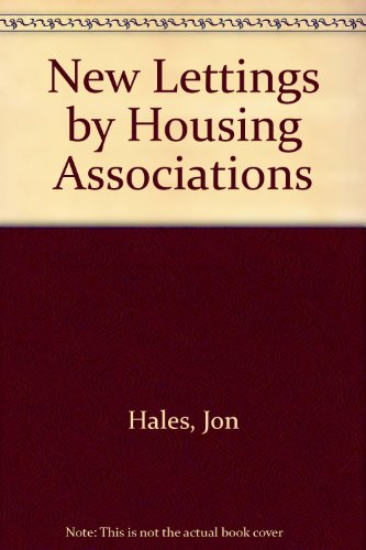 9780117522817: New Lettings by Housing Associations