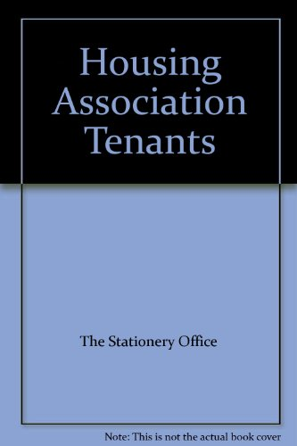 9780117525306: Housing Association Tenants: A Survey of Current and Recent Trends