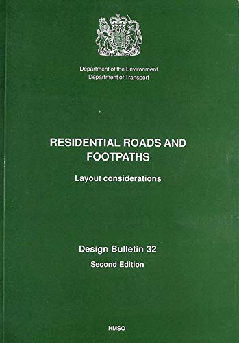 9780117526419: Residential Roads and Footpaths: Layout Considerations (Design Bulletin)