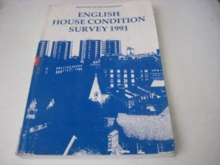 9780117528802: English House Condition Survey 1991