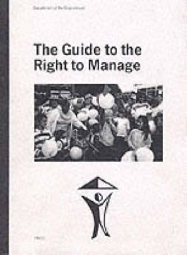 9780117529847: Guide to the Right to Manage