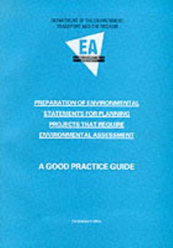 9780117532076: Preparation of Environmental Statements for Planning Projects That Require Environmental Assessment: A Good Practice Guide