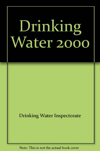 9780117536005: Drinking Water 2000