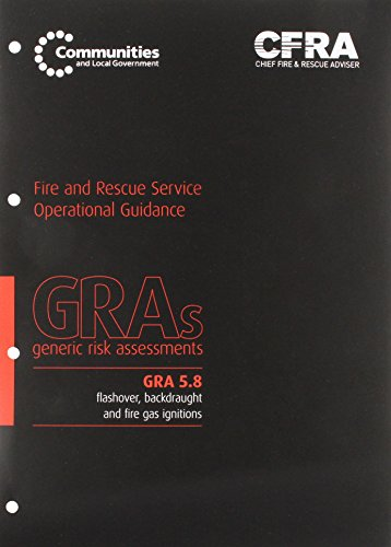 9780117540118: Flashover, Backdraught and Fire Gas Ignitions (Generic Risk Assessment)