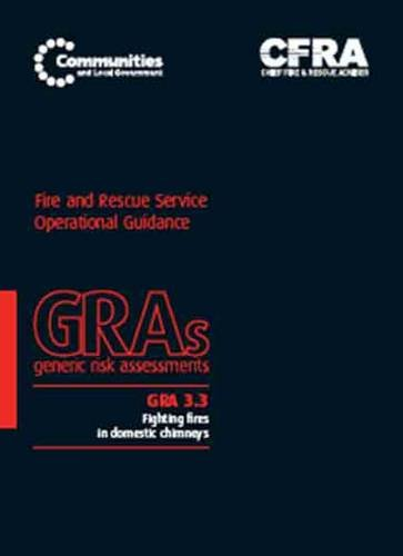 9780117540415: Fighting fires in domestic chimneys (Generic risk assessment)