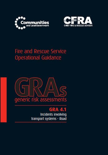 9780117540606: Generic Risk Assessment 4.1 - Incidents Involving Transport Systems - Road