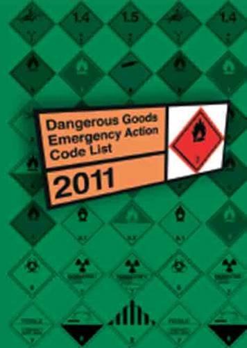 9780117541054: Dangerous Goods Emergency Action Code List 2011