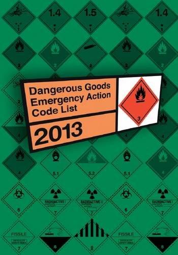 9780117541184: Dangerous Goods Emergency Action Code List 2013