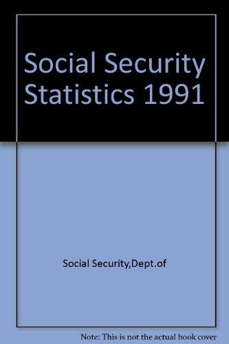 9780117619272: Social Security Statistics 1991