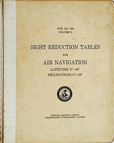 9780117704336: Sight Reduction Tables for Air Navigation: v. 2