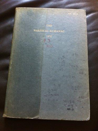 9780117714076: Nautical Almanac 1976