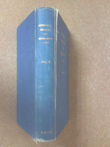 admiralty manual of seamanship br 67