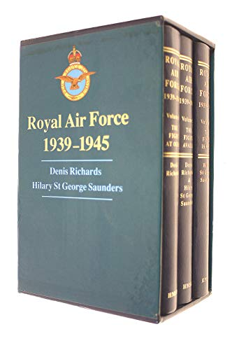 Royal Air Force, 1939-1945 (Complete in 3: RICHARDS, Denis &