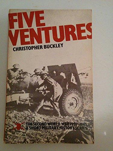 9780117721968: World War, Second, 1939-45: A Short Military History: Five Ventures (The Second World War, 1939-1945) (Paperback)